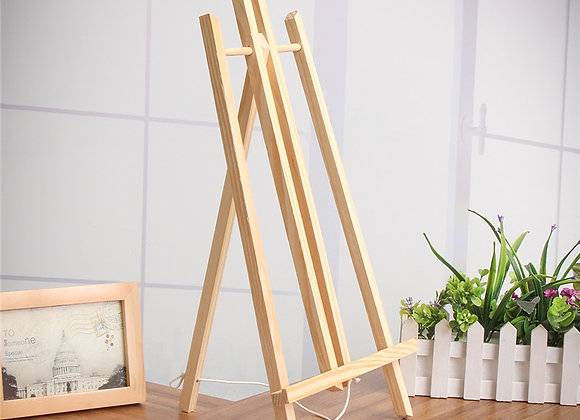 Beech Wood Table Easel for Showcasing -  Wooden Stand for Party Decoration