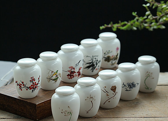 Mini White Ceramics Ash Holder (Niche Product), Very Small (Sold As Is)