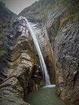 Canyon de Tines Abarouss Canyoning alpes Haute provence
