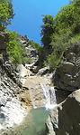 Canyon de Bramefan Alpes de Hautes-Provence canyoning Pays Dignois