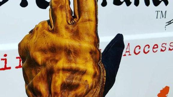 Motostuka «PINTO» Shanks gants BRONZE/NOIR