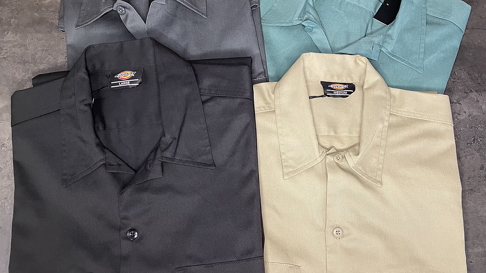 Chemise Work manches courtes DICKIES