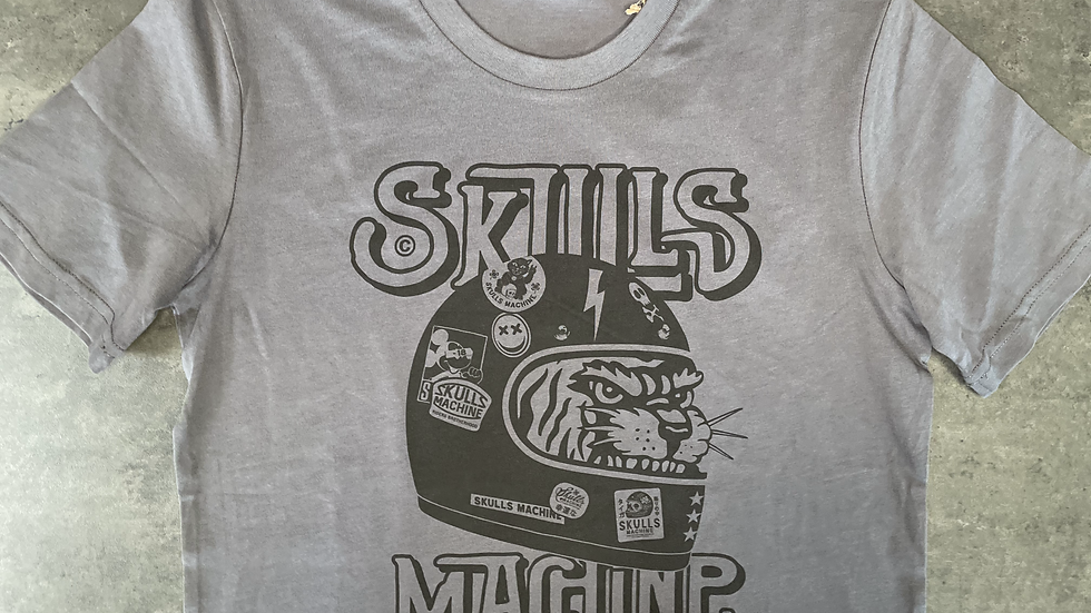 T-shirt Deathvalley SKULLS MACHINE