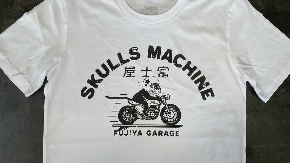 T-shirt Madmax SKULLS MACHINE