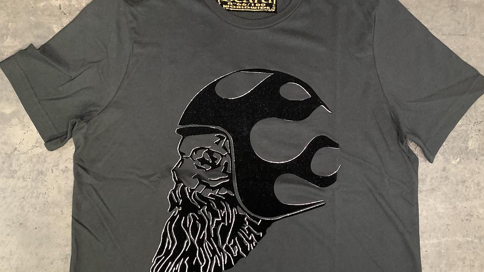 T-shirt Noir/Noir/Argent DB BOBBERBEARD