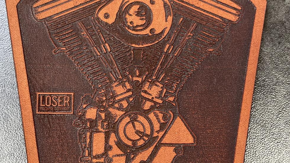 Patch en cuir LOSER MACHINE COMPANY