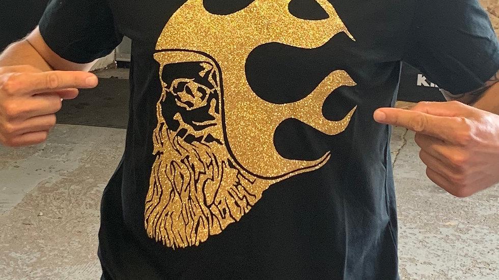 T-shirt Homme Noir & Gold BOBBERBEARD