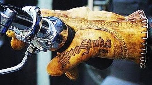 MotoStuka «BRONZE» shanks gants