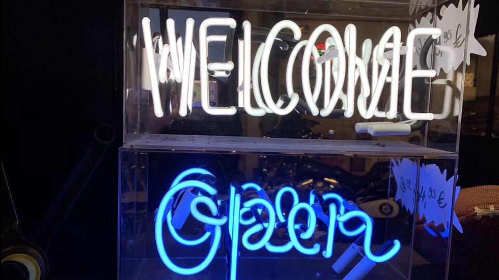 "Néon ""Open""/""Welcome"""