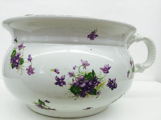 Commode With Violets