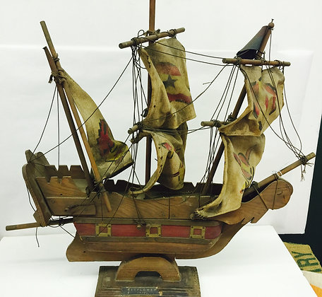Old Mayflower Model Ship