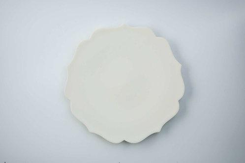"""""""Girls' dream in clouds"""" Handmade ceramic dish plate   Junko OKU"""
