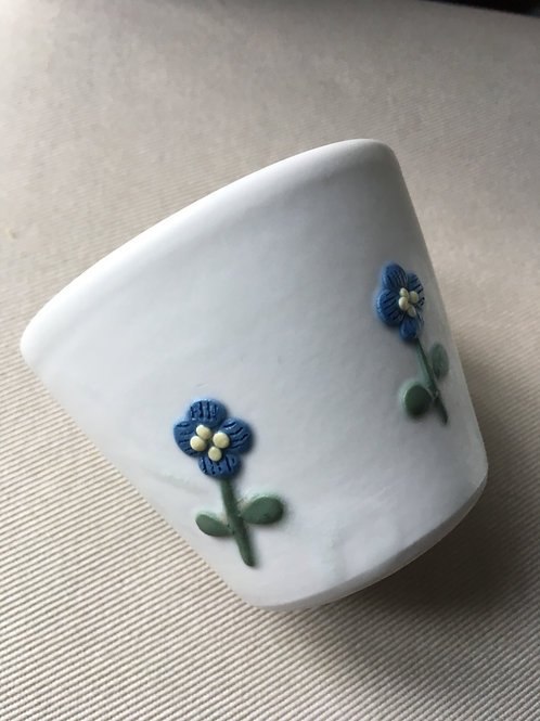 Flower coffee cup   Akiko UOTANI