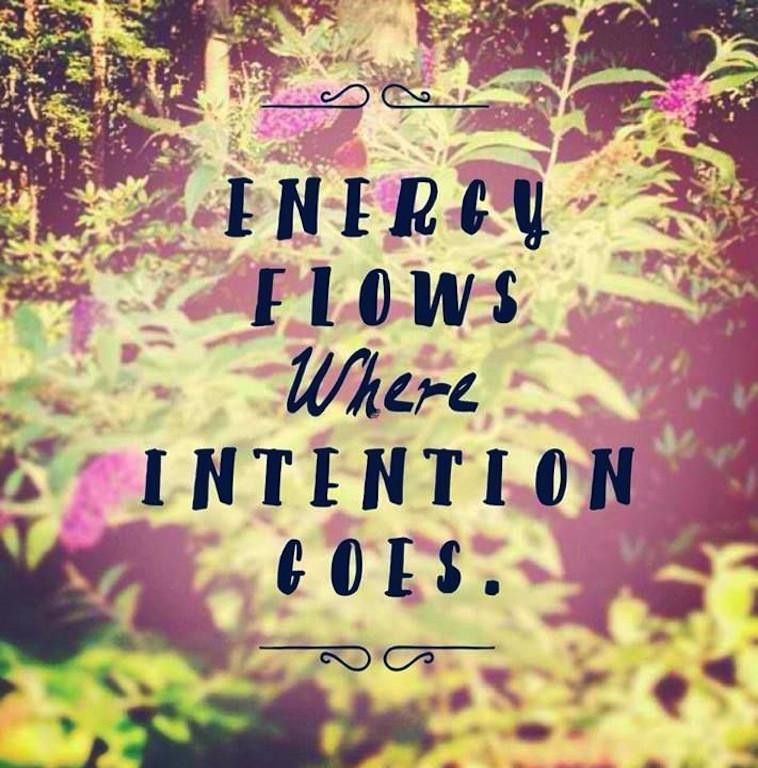 Intention is everything in yoga