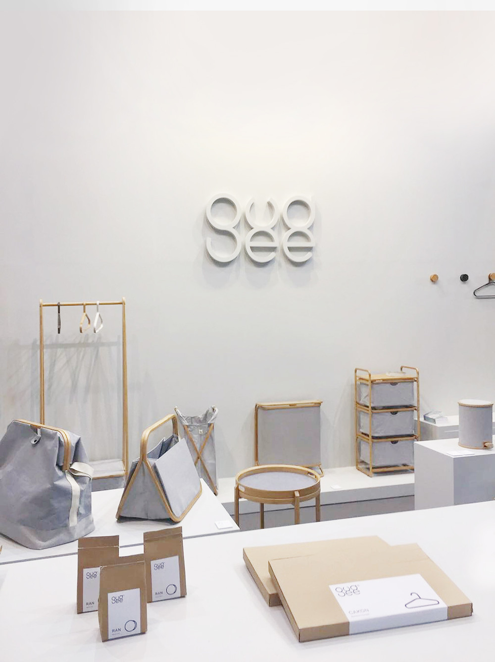 Gudee Blog-packages logo-Gudee unveils new collection at Ambiente 2018