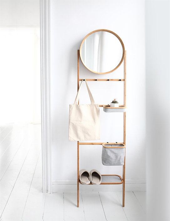 gudee grota storage rack mirror
