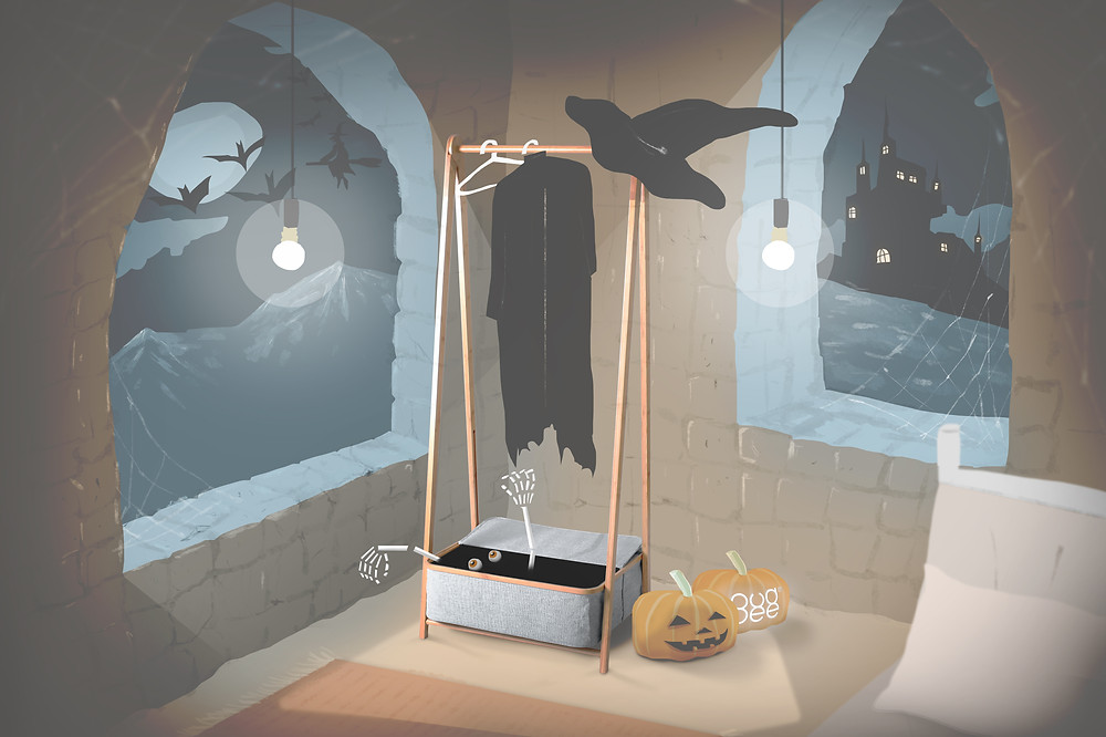 Gudee Blog-Alfa garment rack storage-Happy Halloween Stay Festive with ALFA Rack