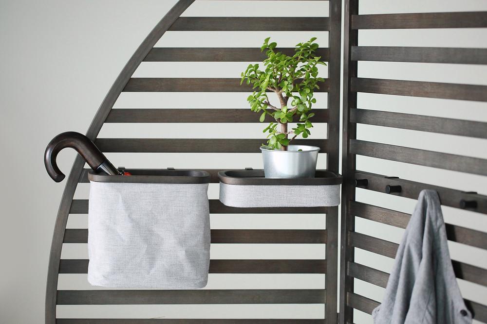 Gudee Blog-Otaka storage tray basket hooks-One Easy Décor Creates Extra Spaces