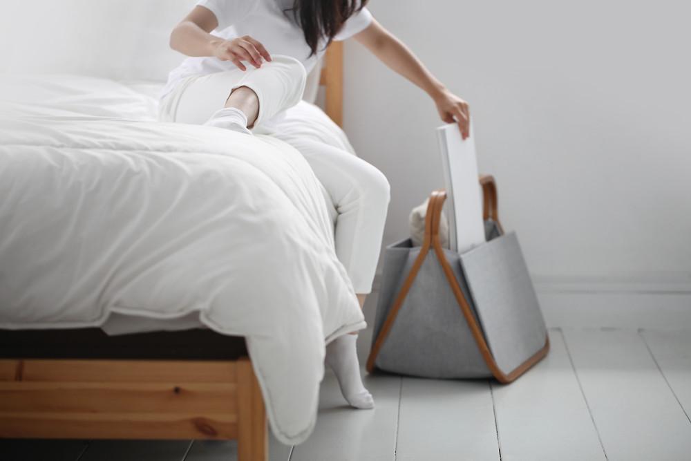 Gudee Blog-Gatsby storage basket bedside-Basket for Cozy Winter Decor