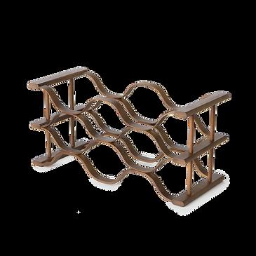 Wavi- wine rack 酒瓶架-棕色六格02.png