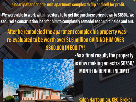 COMMERCIAL PROPERTY purchase+FLIP for reinvestment!