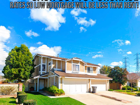 MORTGAGE PAYMENT SO LOW YOU CAN MATCH PREVIOUS RENT!