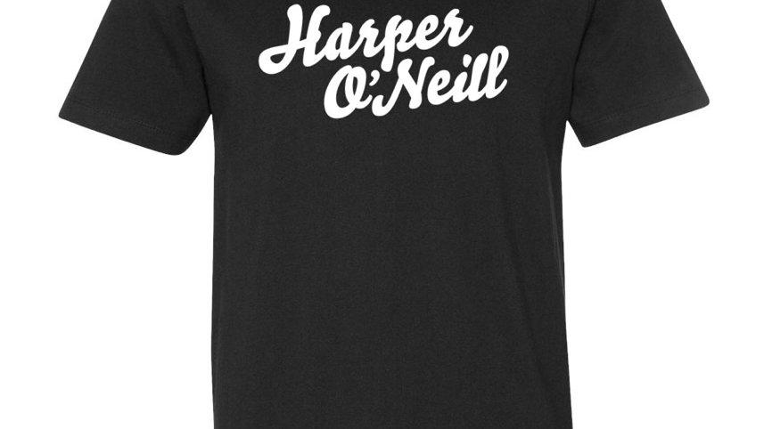 Harper O'Neill Black Tee