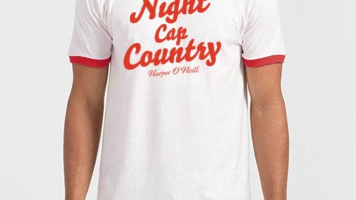 Night Cap Country Ringer Tee