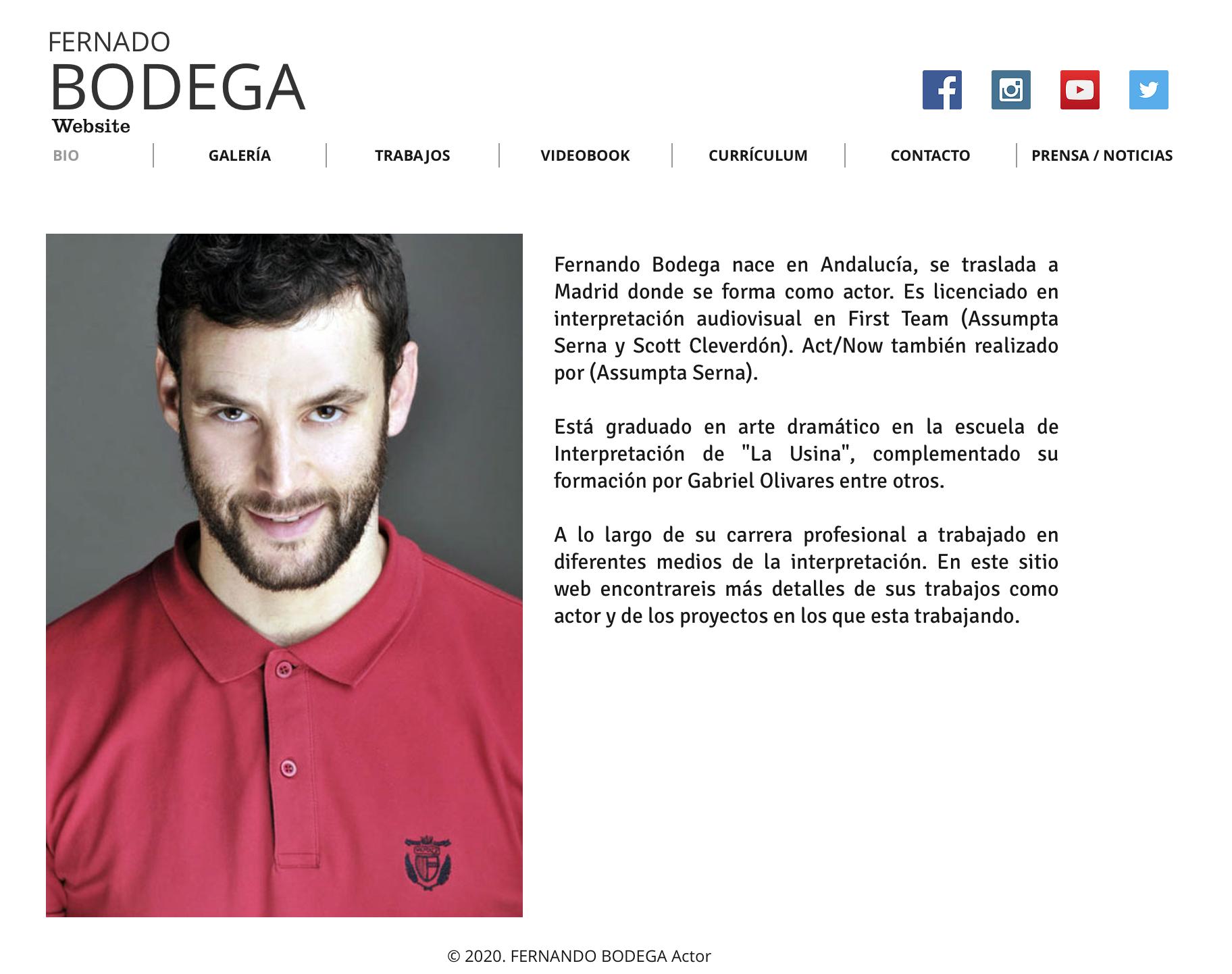 Lujoso Currículum Para Actor Regalo - Ejemplo De Colección De ...