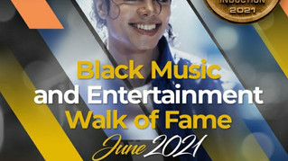 """Michael Jackson Inducted into the """"Black Music and Entertainment Walk of Fame!"""""""