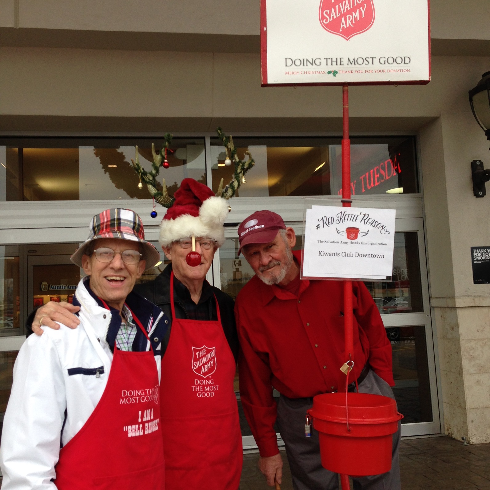 Bell Ringing for the Salvation Army