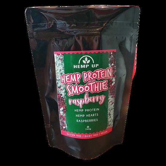 Hemp Protein Smoothie Raspberry 240g