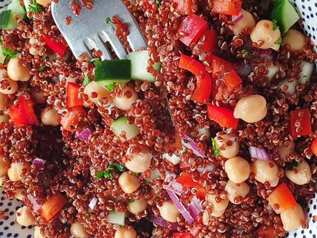 Quinoa Salad with Hemp Hearts