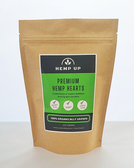 Premium Hemp Hearts (250g)
