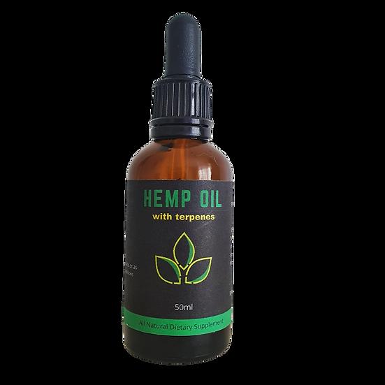 Hemp Oil with Terpenes 50ml