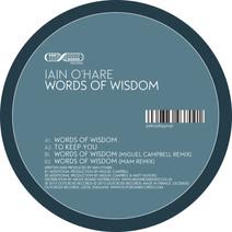Iain O'Hare - Words of Wisdom EP
