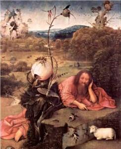 St. John the Baptist in Meditation Hieronymus Bosch