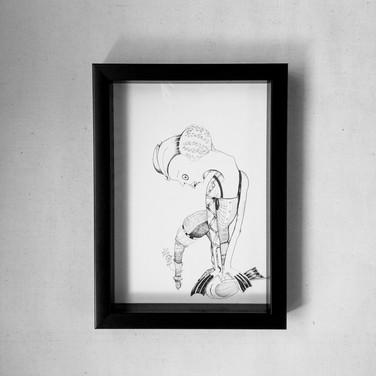 Tied up | Framed