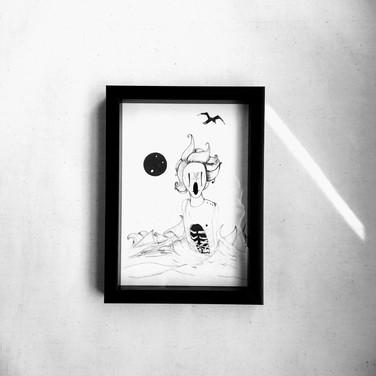 Seagull | Framed