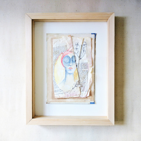 Hidden Stiches | Framed