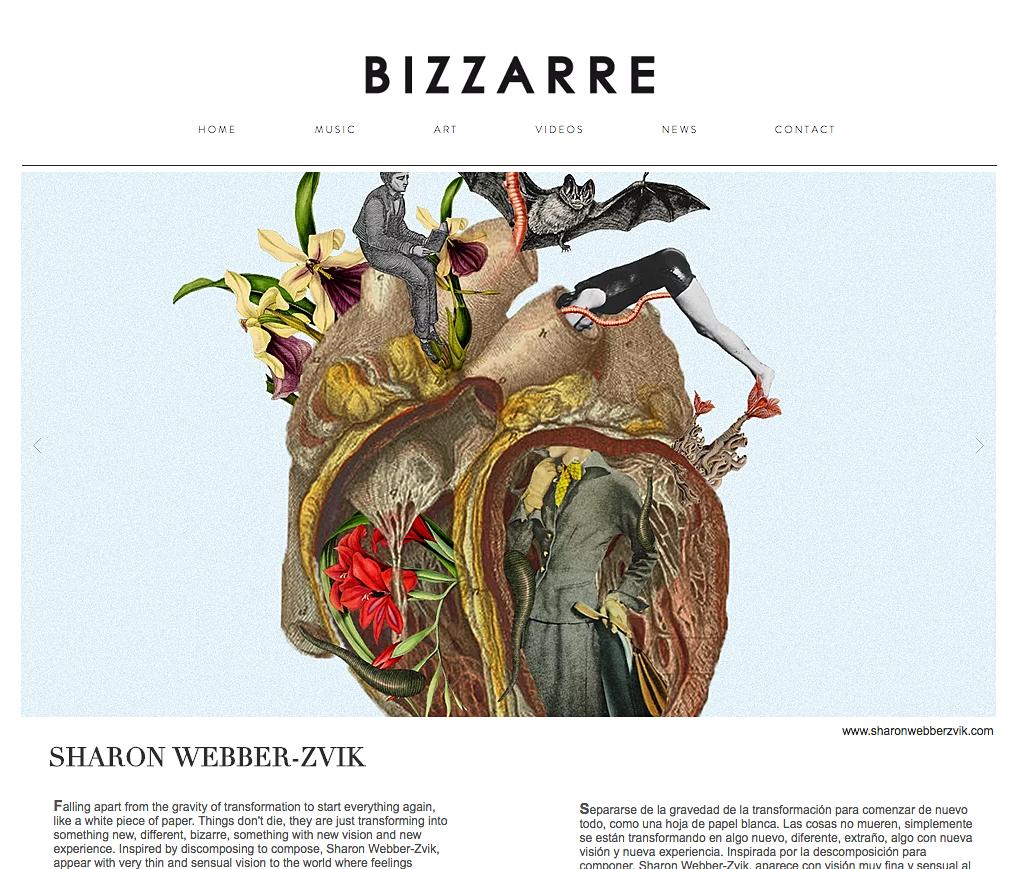 Hip Hip! I'm on Bizzarre mag!