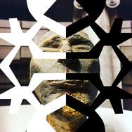 'VERSA RAZA'  Serie Matrices Grabado Digital