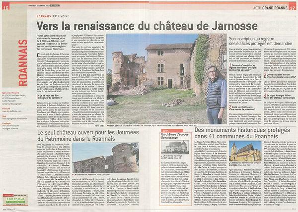 La Tribune Le Progrès - Château de Jarno