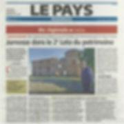 Le pays Roannais - 13-06-2019 - articles