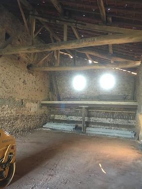 Jarnosse - Dépose mur