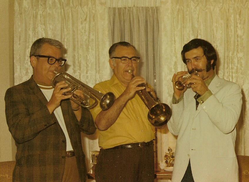 Charlie, Eddie, and Don