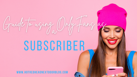 Using OnlyFans as a subscriber