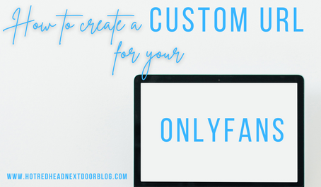 How create a custom URL for your OnlyFans