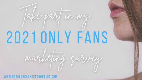 Take part in our 2021 OnlyFans Survey