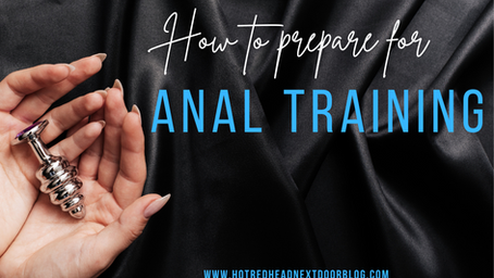 Anal Training from an Anal Slut